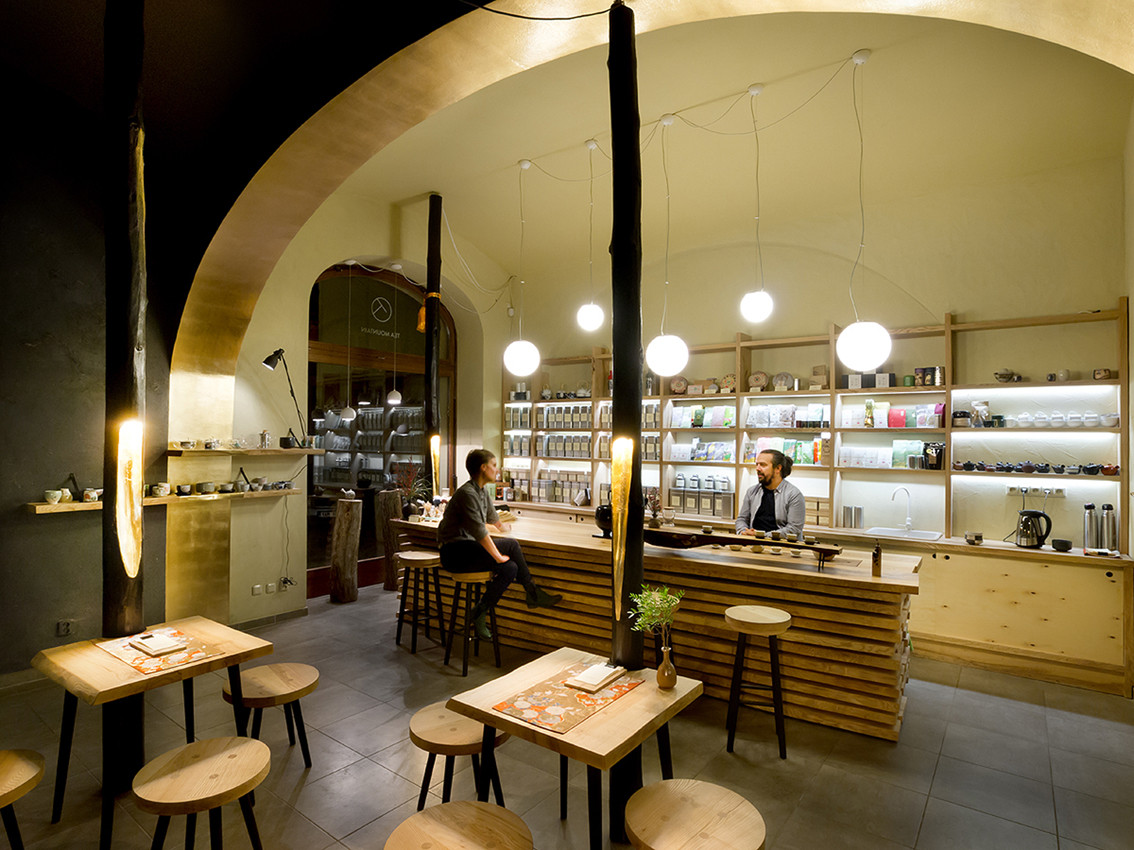 Tea Mountain, the teashop / A1Architects, © A1Architects – MgA. David Maštálka