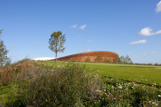 London's Olympic Park came replete with plenty of green public space. Image © Anthony Charlton
