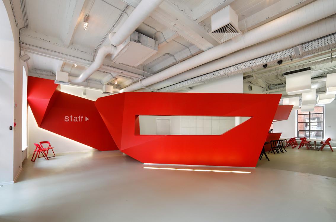 Gallery of bbdo moscow nefaresearch 4 for Bbdo office design 9