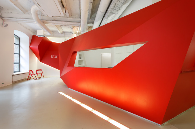 BBDO Moscow / VOX Architects, Courtesy of Nefaresearch