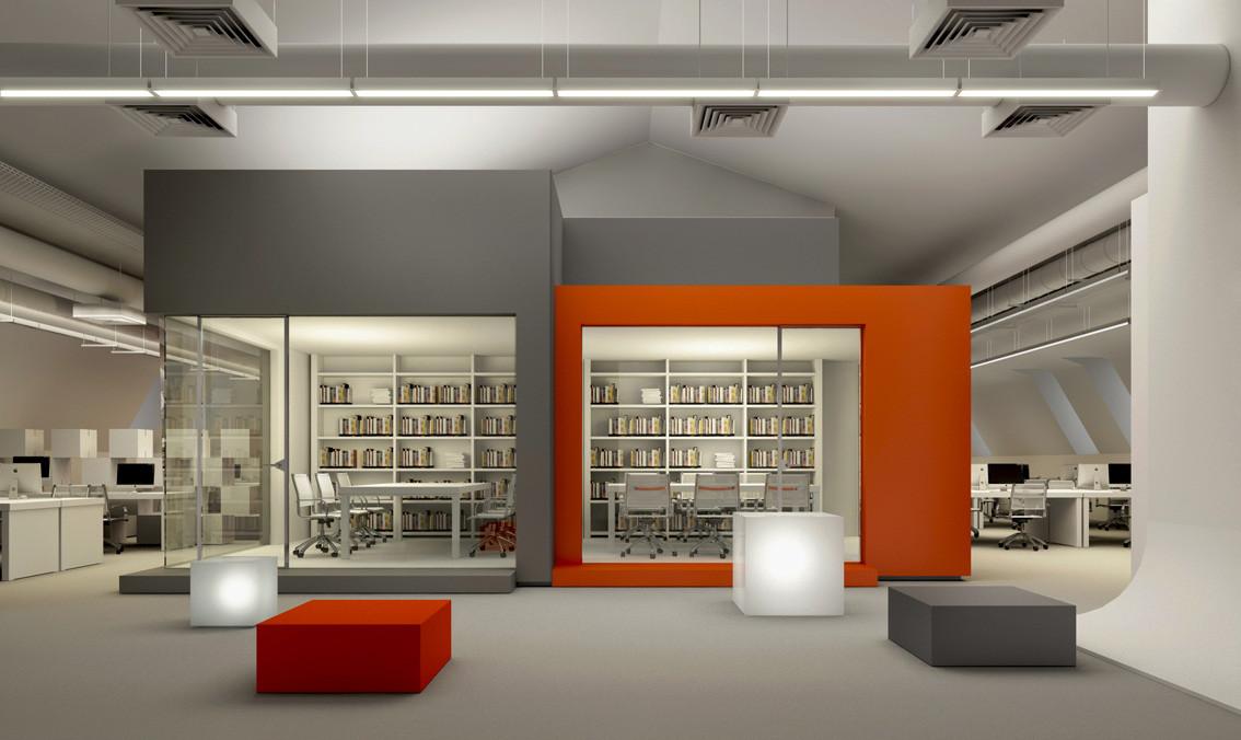 Gallery of bbdo moscow nefaresearch 2 for Bbdo office design 9