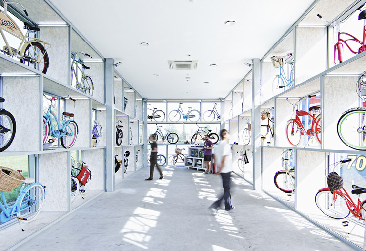 Centro de Bicicletas Electra / Andrey Ukolov + Ekaterina Osipova, © Sergey Kuznetsov