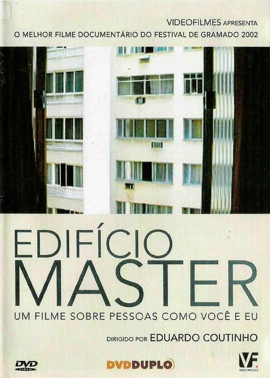 """Cinema e Arquitetura: """"Edifício Master"""", Edifício Master. Cartaz de Divulgação."""