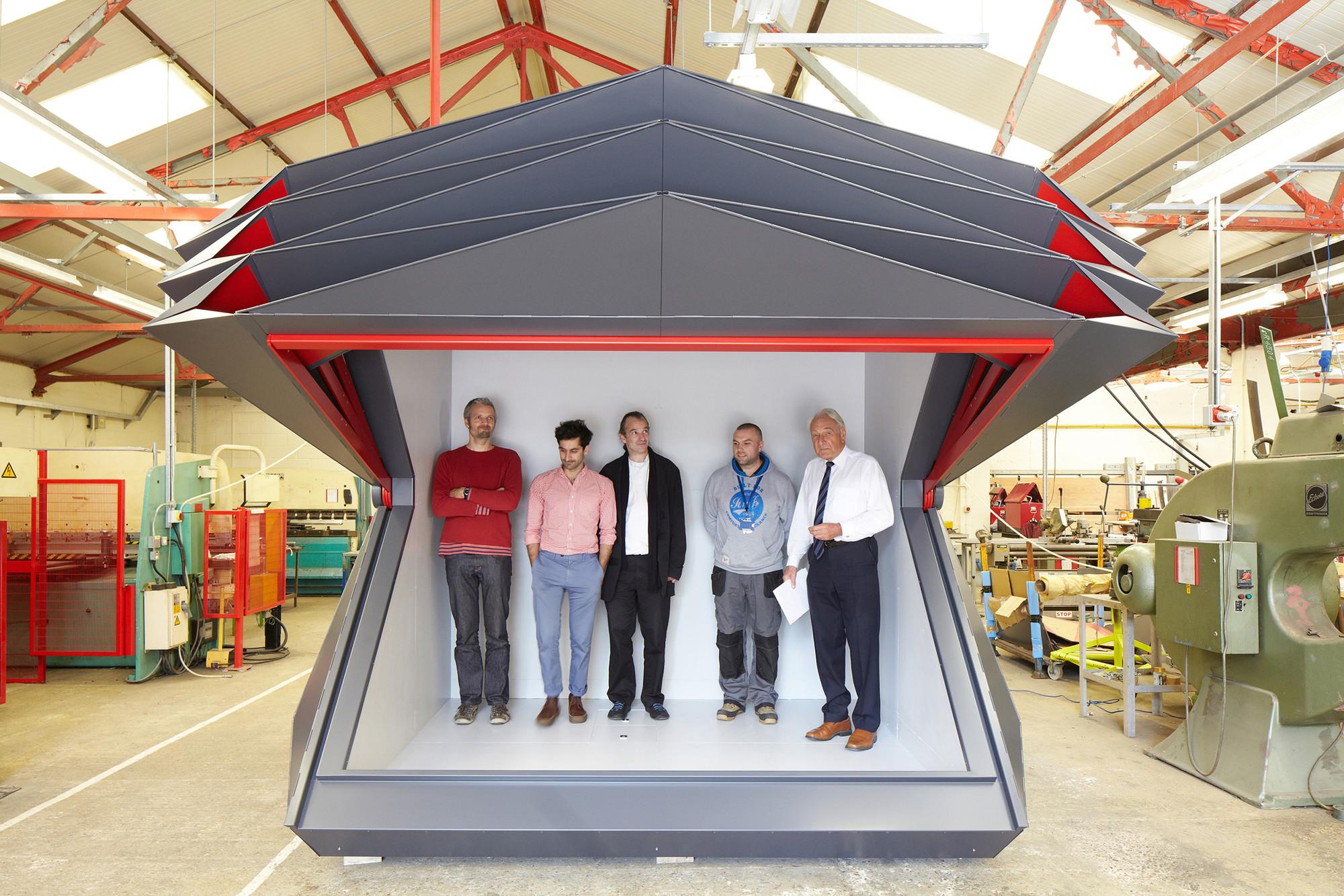 Kiosk Make Architects Archdaily