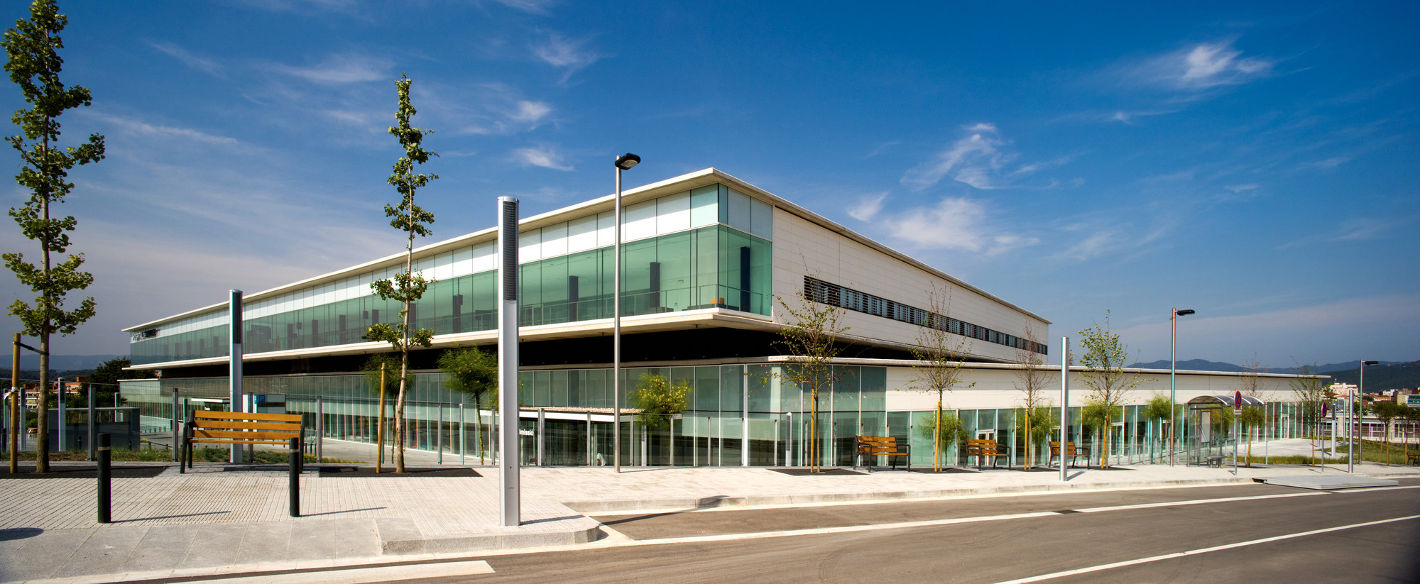 Hospital of Mollet / Corea Moran Arquitectura | ArchDaily