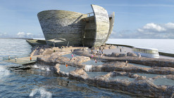 Juice Architects Propose Offshore Visitor Centre for Swansea Bay