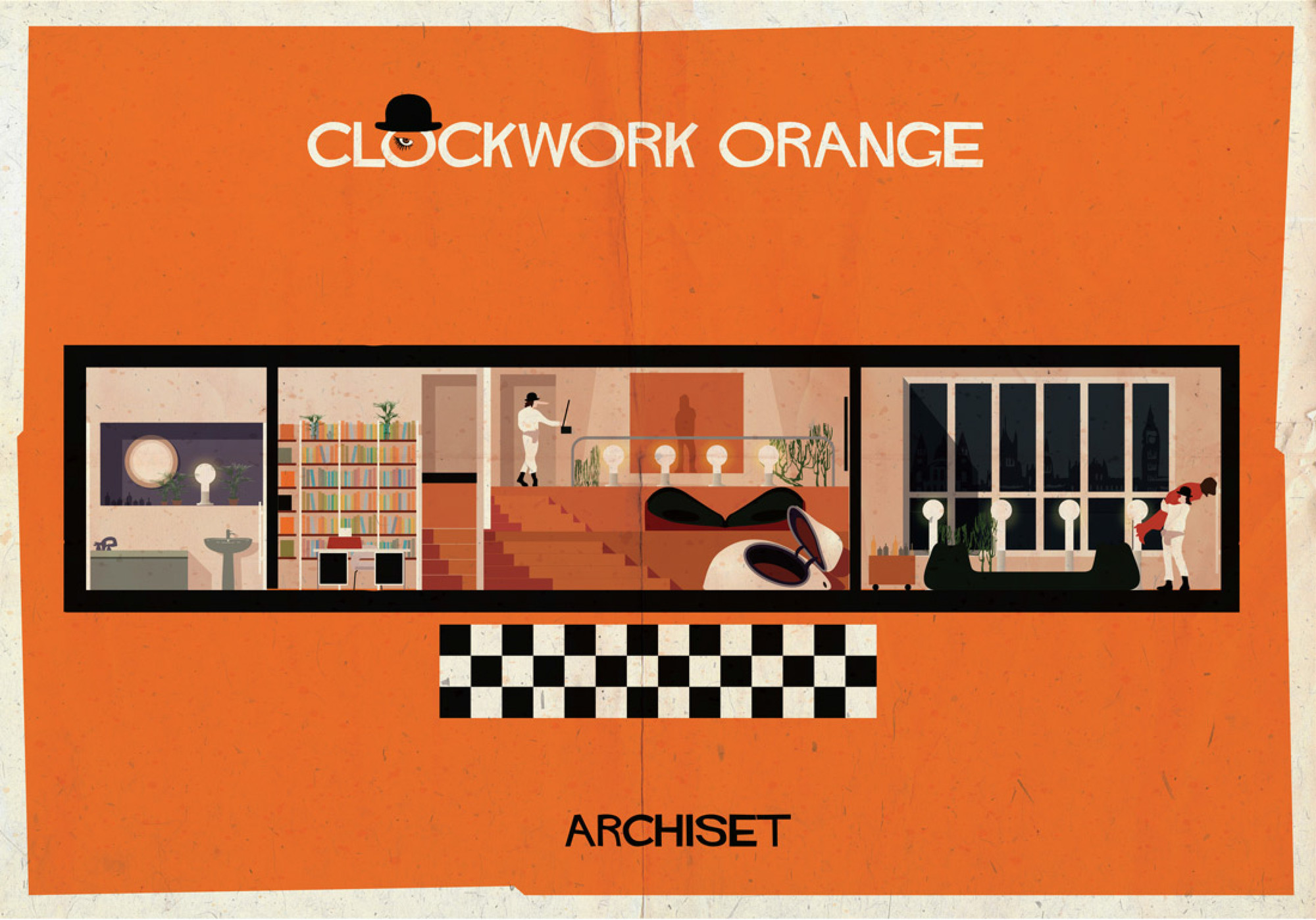 ARCHISET: An Illustrated Tribute to the Interiors of Classic Cinema, Courtesy of Federico Babina