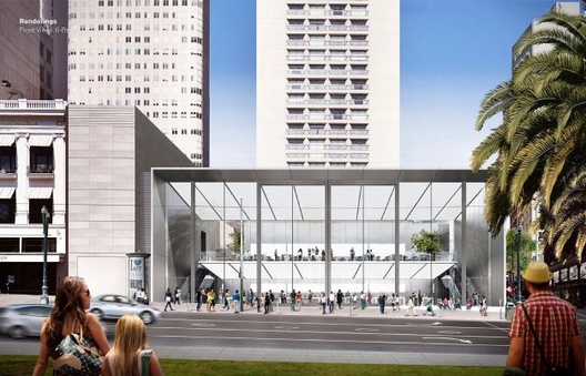 Apple's Revised San Francisco Store Approved, Courtesy of Apple