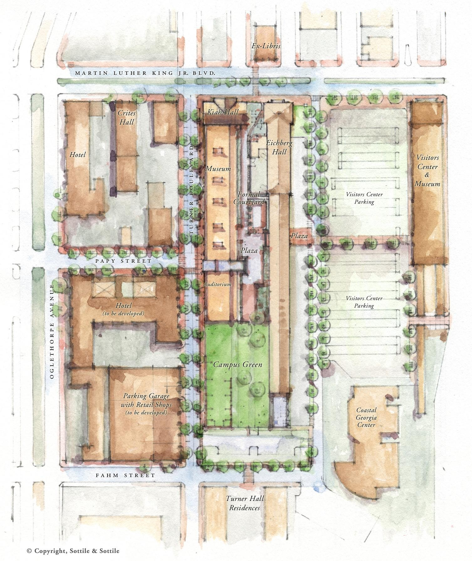 Gallery of SCAD Museum of Art / Sottile & Sottile and Lord ... on green plan, church plan, salvation plan,