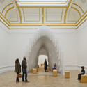 Installation by Diebedo Francis Kere. Image © Royal Academy of Arts, London, 2014. Photography: James Harris