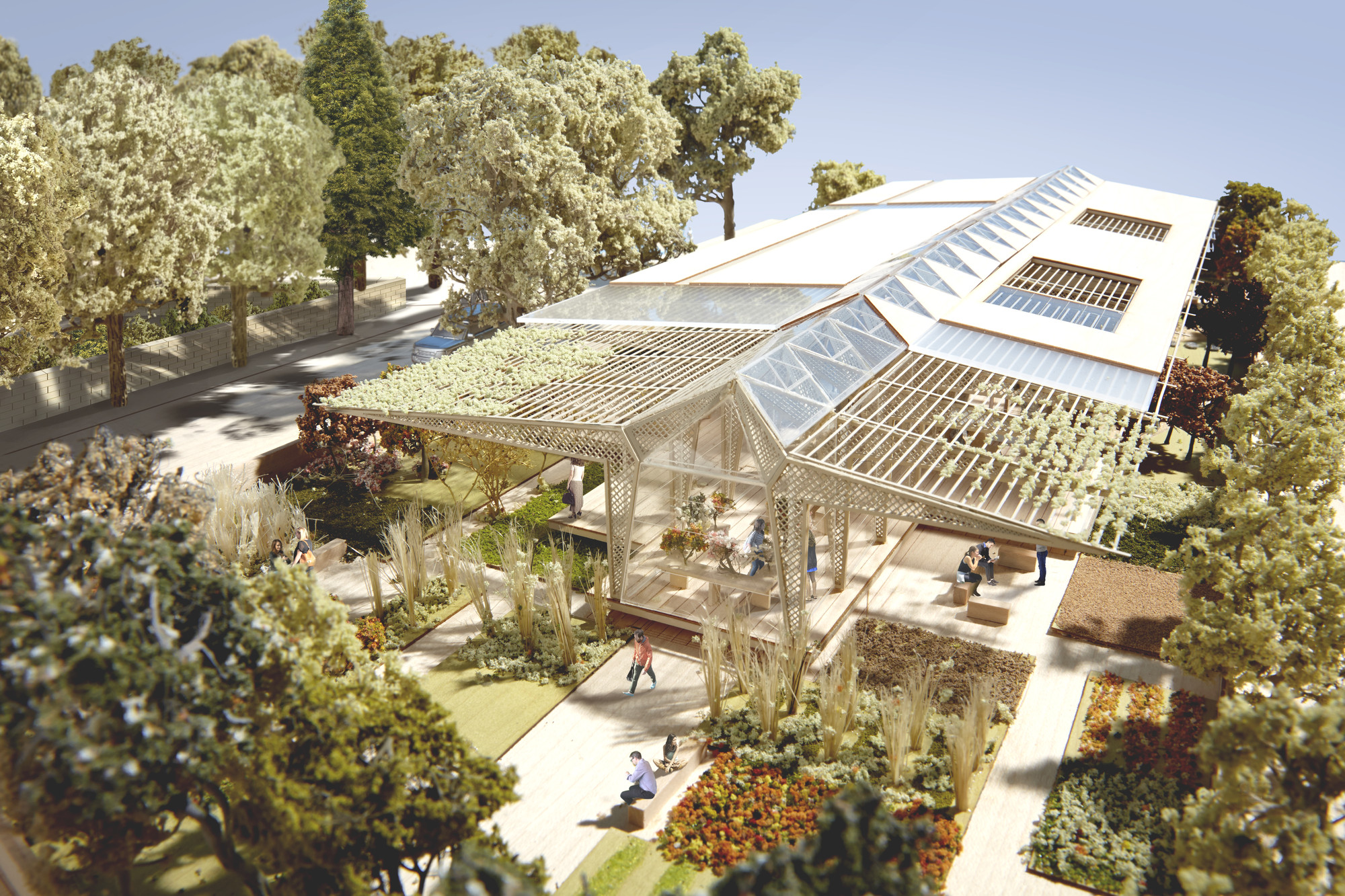 Norman Foster Wins Planning for Manchester Maggie's Centre, © Foster + Partners