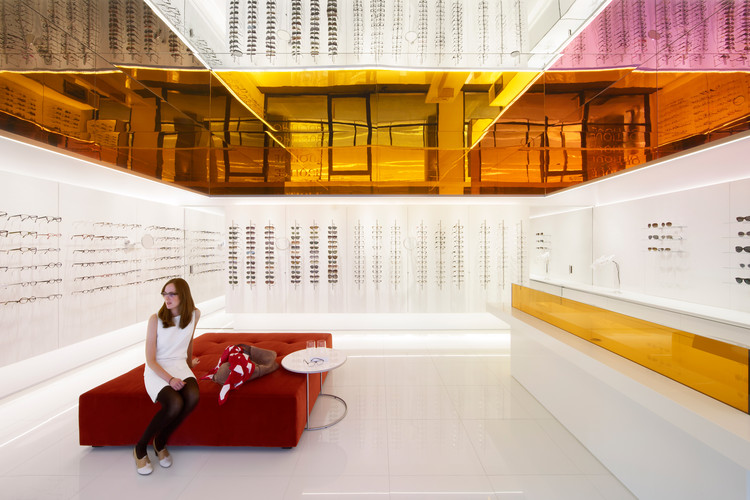 Óptica Potts Point / Smart Design Studio, Cortesía de Smart Design Studio