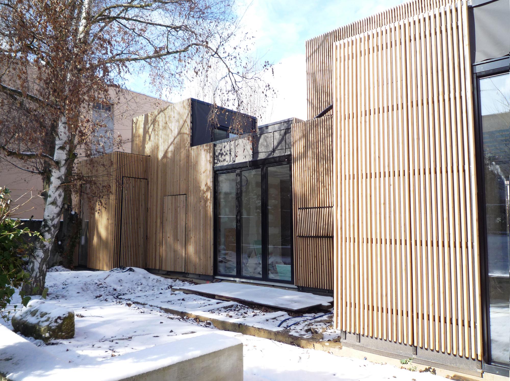 wooden frame house a samuel delmas - Wood Frame House