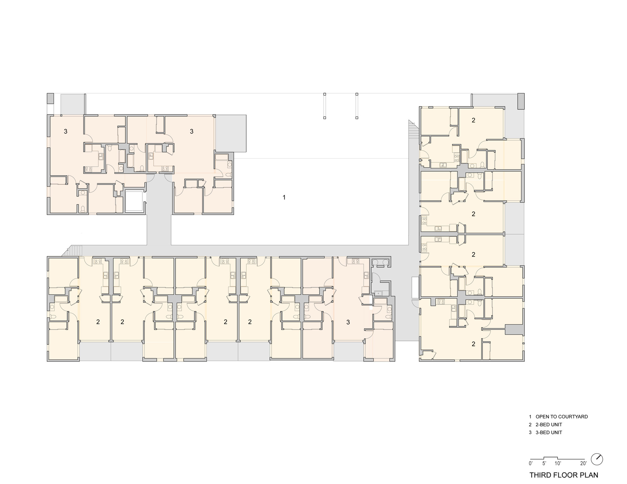 big floor plans gallery of pico place scarpa architects 20 10723