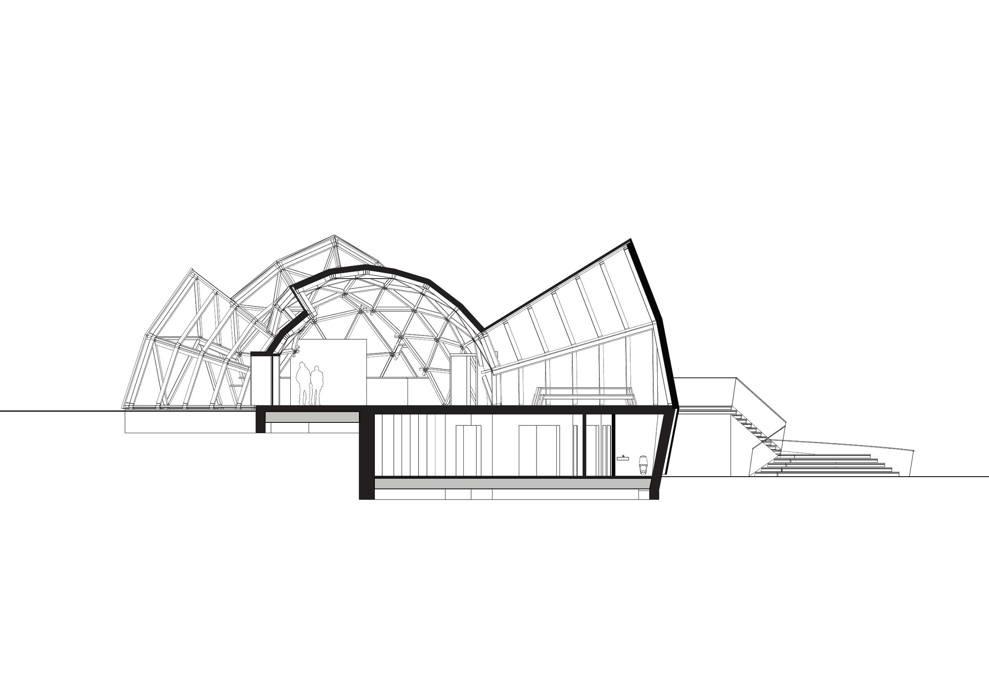 Tejlgaard Jepsen Transform A Temporary Geodesic Dome Into Permanent Structure