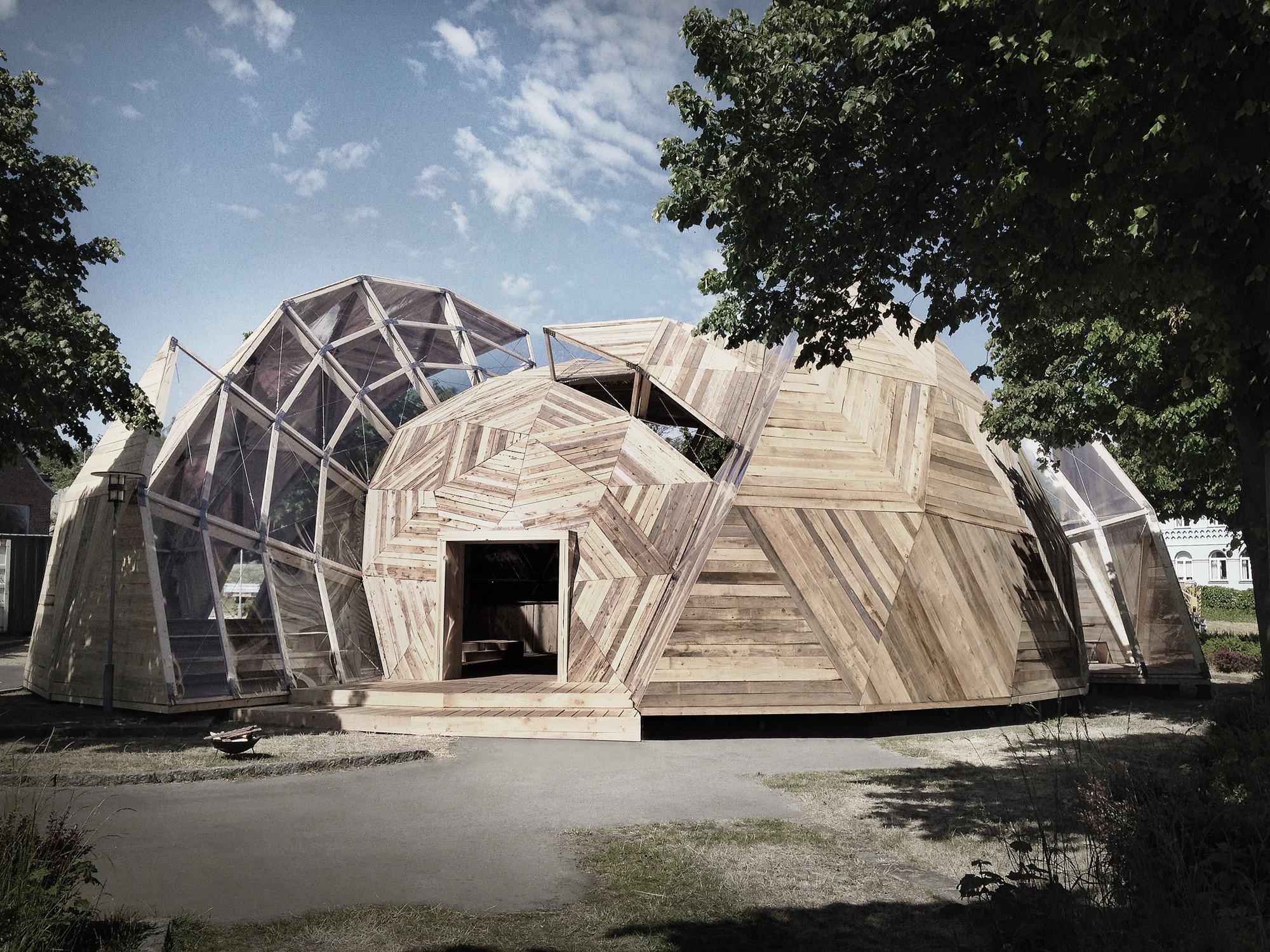 Tejlgaard & Jepsen Transform a Temporary Geodesic Dome Into a Permanent Structure, Courtesy of Tejlgaard & Jepsen