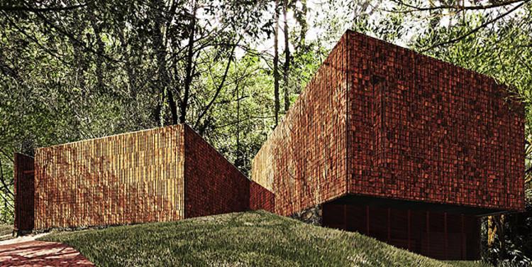 Instituto Inhotim anuncia a criação de novos espaços para as obras de Olafur Eliasson e Claudia Andujar, Pavilhão dedicado à obra de Claudia Andujar, projetado pelos Arquitetos Associados. Image Cortesia de folha.uol