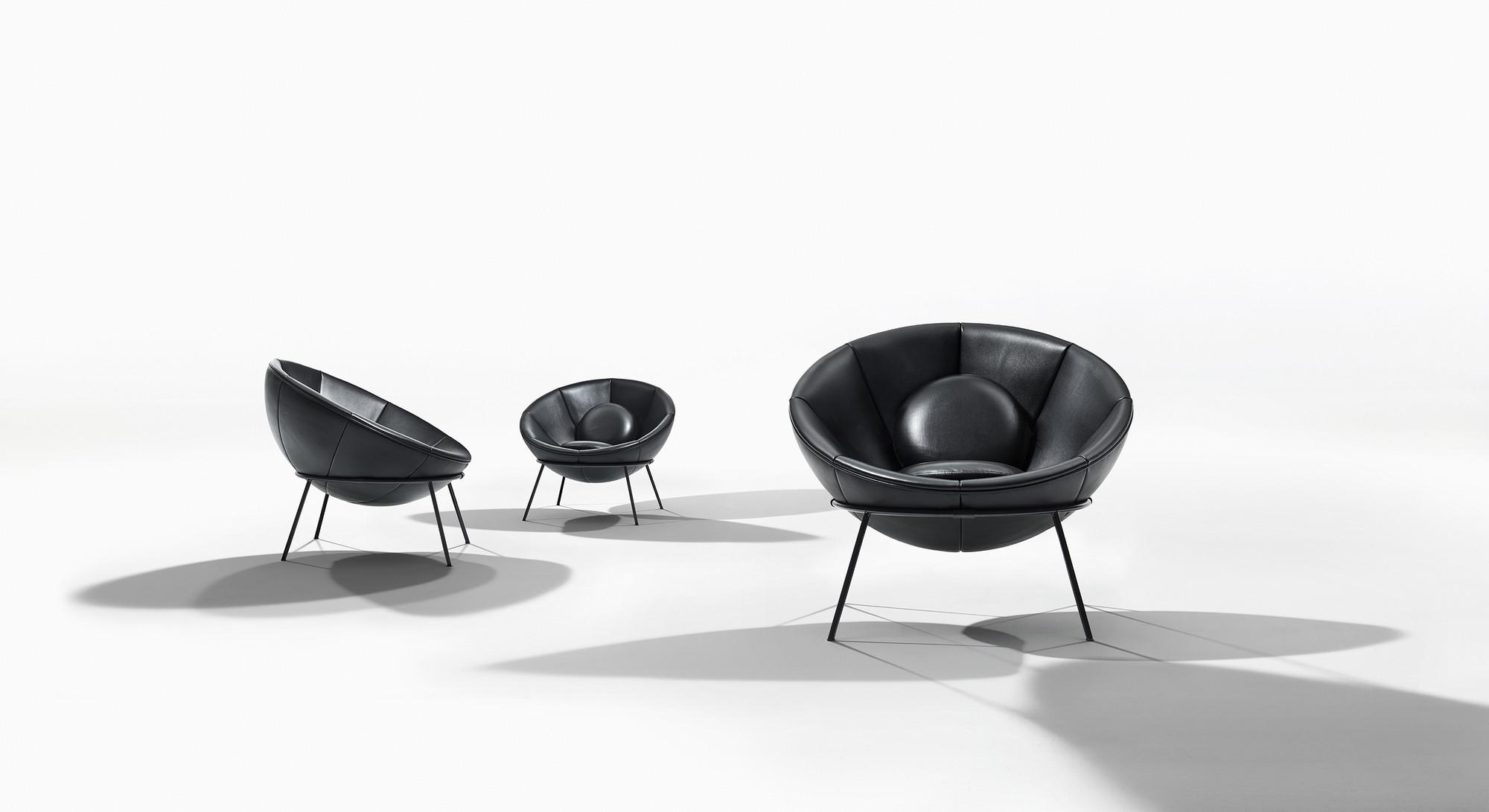 Arper Relaunches Lina Bo Bardi s Signature Bowl Chair