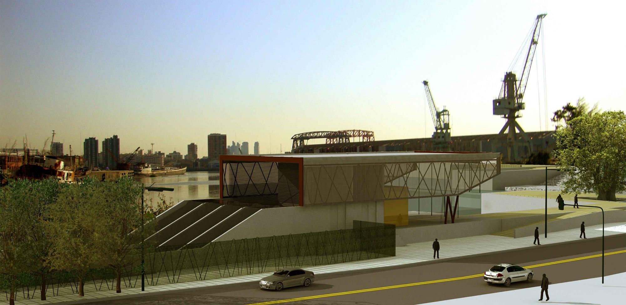 Galer a de primer premio de arquitectura y dise o urbano - Arquitectura de diseno ...