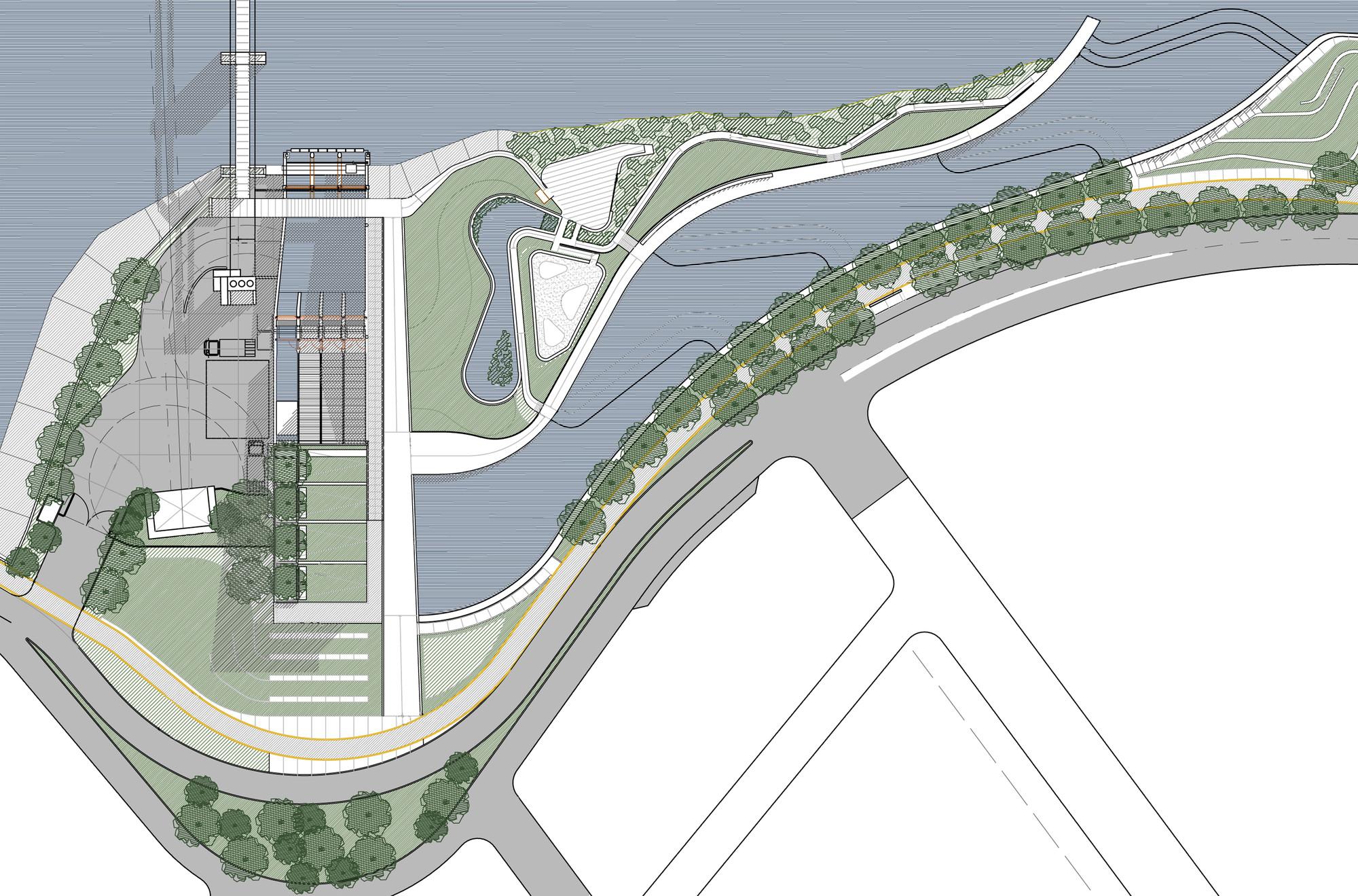 Galer a de primer premio de arquitectura y dise o urbano for Plantas ornamentales para parques