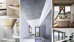 Baños: arquitectura y ejemplos de diseño
