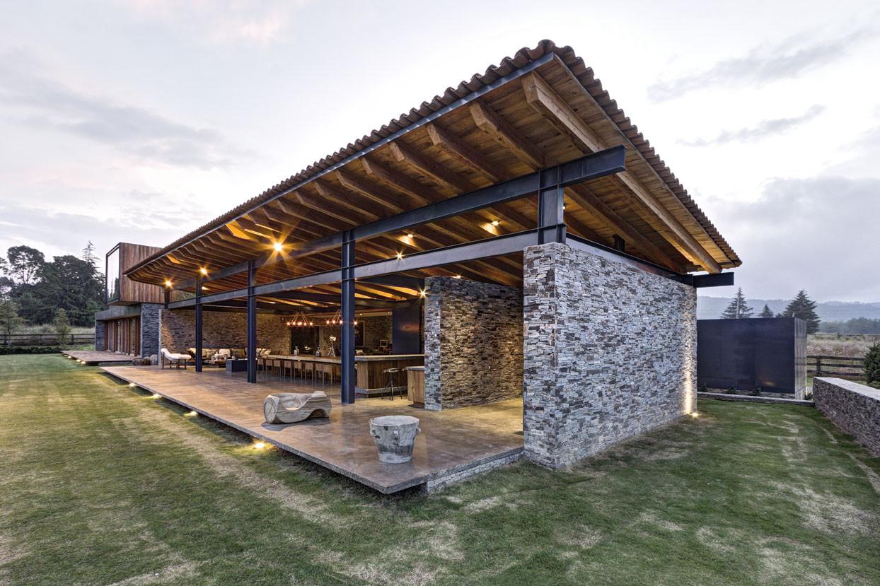 Galer a de casa vr tapalpa el as rizo arquitectos 13 for Arquitectos para casas