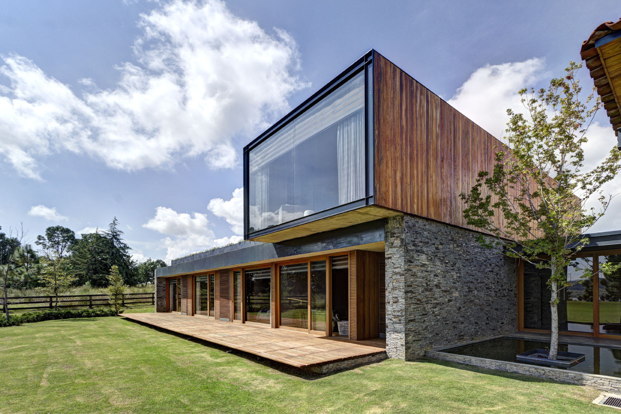 Vr tapalpa house el as rizo arquitectos archdaily for Vr house