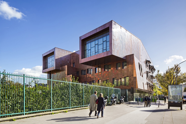 Conservatorio de Música en el Distrito 17 de Paris / Basalt Architects, © Sergio Grazia