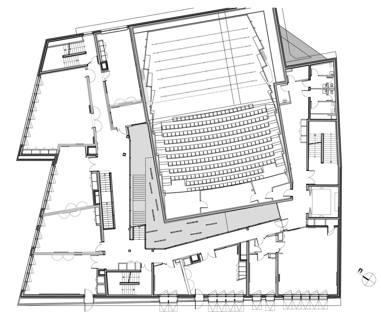 Gallery Of Music Conservatory In Paris 17th Arrondissement Basalt Architecture 25