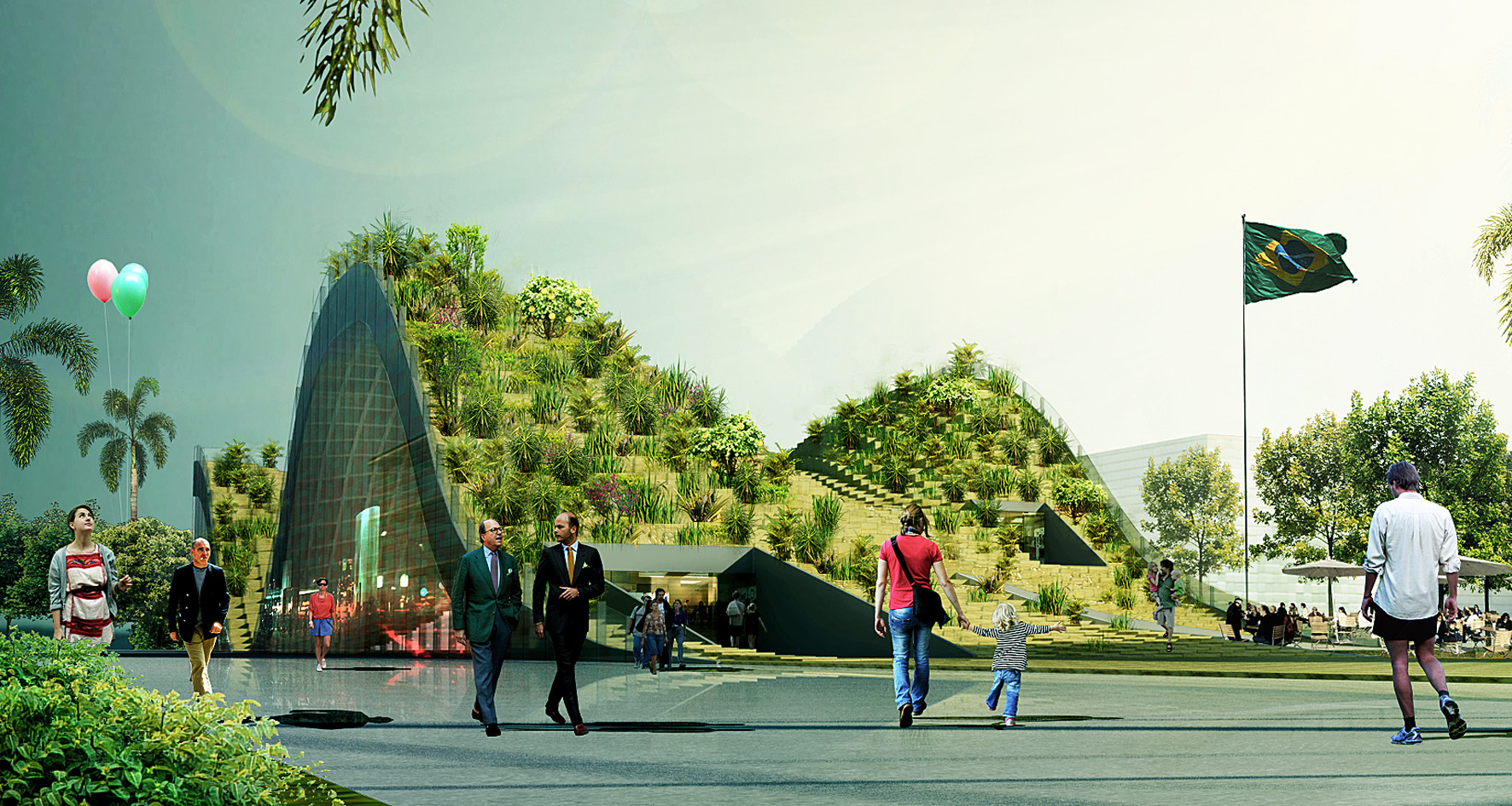 Proposta para o Pavilhão do Brasil na Expo Milão 2015 / Lompreta Nolte Arquitetos, Courtesy of Lompreta Nolte Arquitetos