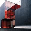 Red Wall / 3Gatti Architecture Studio © Shen Qiang & Daniele Mattioli