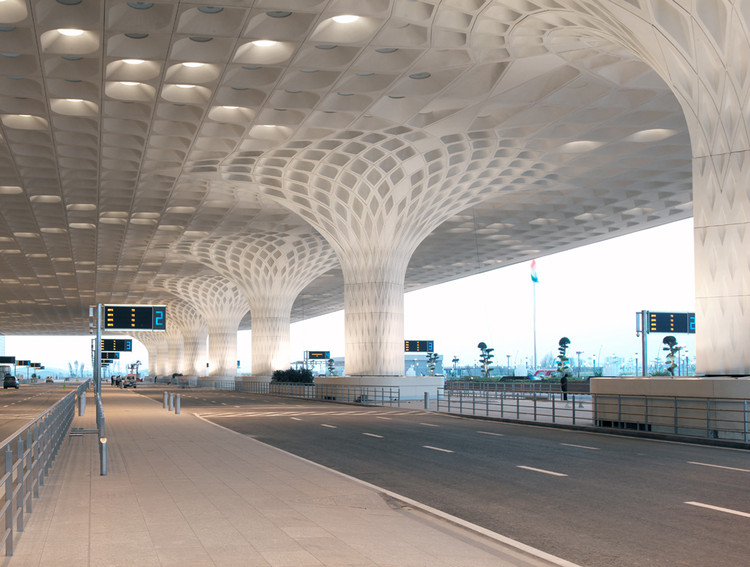 Chhatrapati Shivaji International Airport - Terminal 2 / SOM, Courtesy of Robert Polidori
