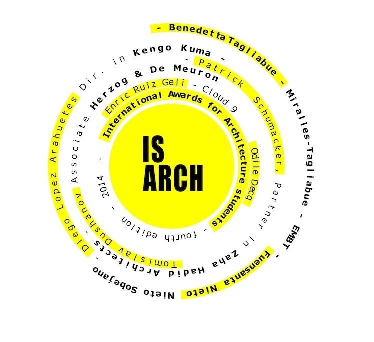 Se anuncia la 4ta Edición de los premios IS RCH para estudiantes de arquitectura