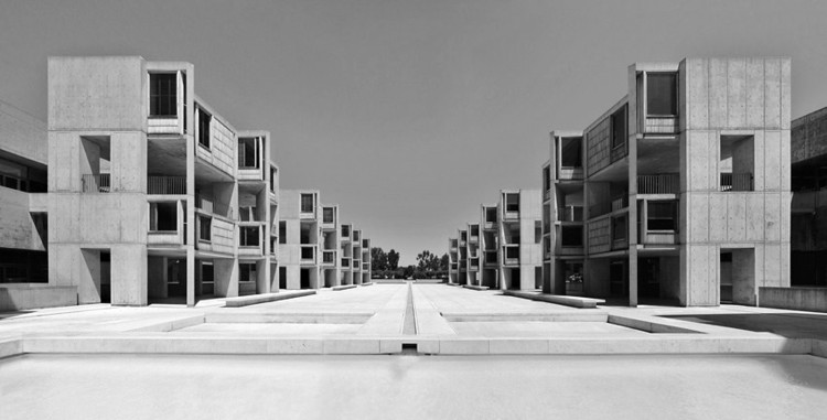 Em foco: Louis Kahn, Salk Institute / Louis Kahn . Imagem © Liao Yusheng