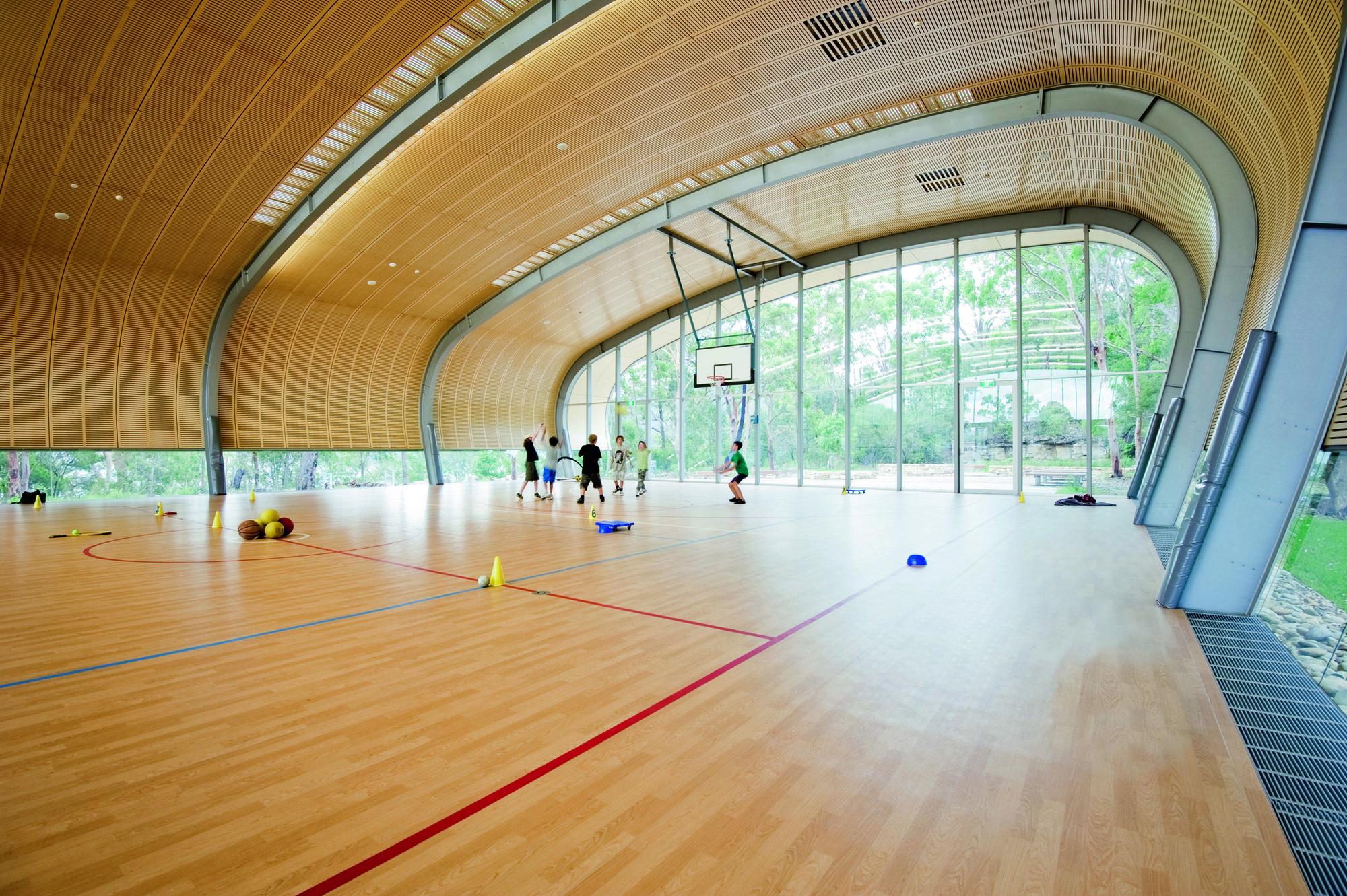 Gallery Of Milson Island Indoor Sports Stadium Allen
