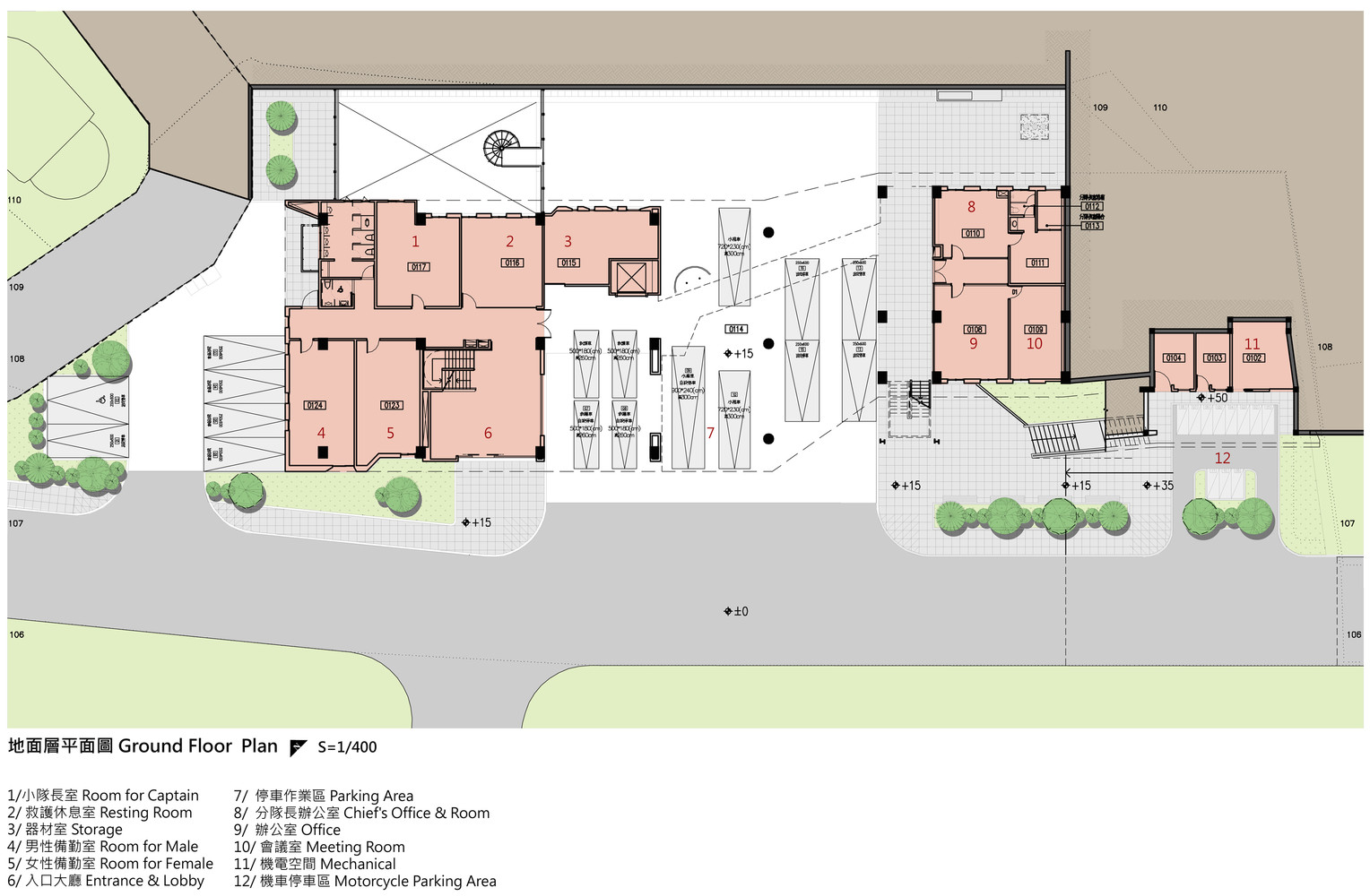 Gallery of DaYo Fire Station KArchitect 40 – Fire Station Floor Plans