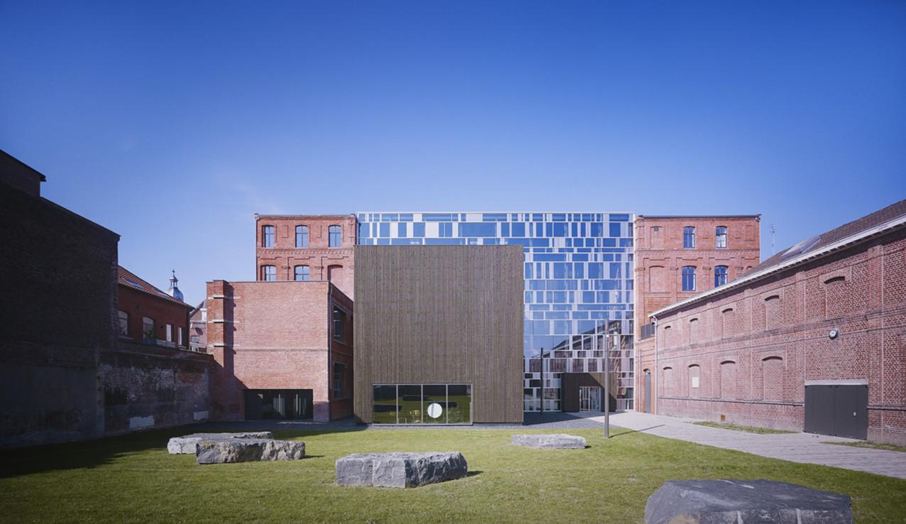 Music Academy Of Roubaix / Zig Zag architecture, © Julien Lanoo