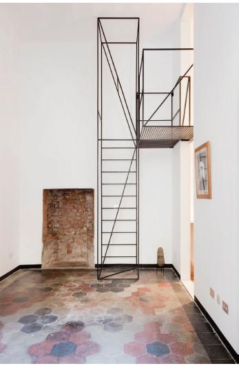 Galer a de en detalle escalera casa c francesco - Escaleras de techo ...