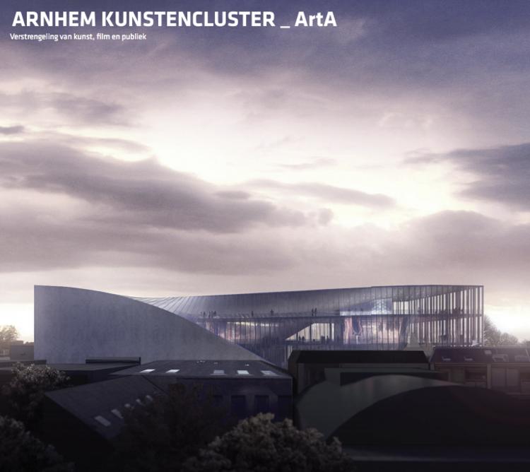 BIG e Kengo Kuma entre os quatro selecionados para projetar o ARTA Cultural Center em Arnhem, © BIG with Allard Architecture