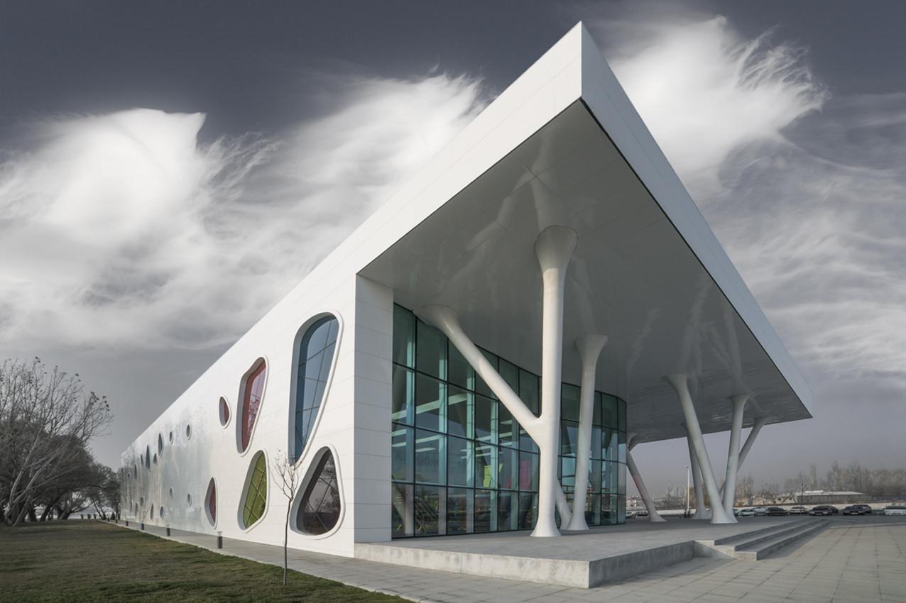 Ket Kolektif Kayseri Ice Ring BKA BahadrKulArchitects
