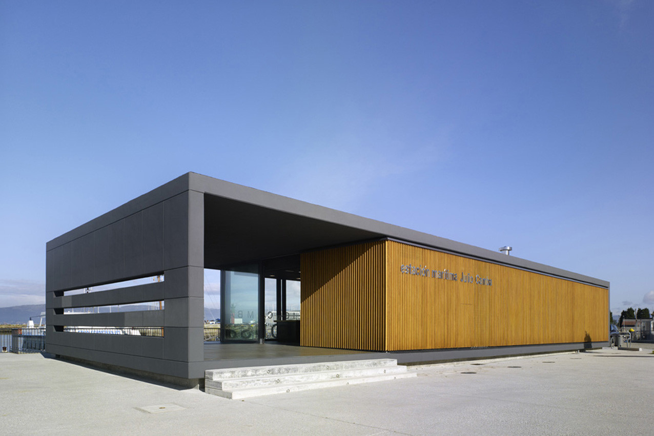 Maritime Station Vilanova de Arousa / 2C Arquitectos, © Santos-Díez