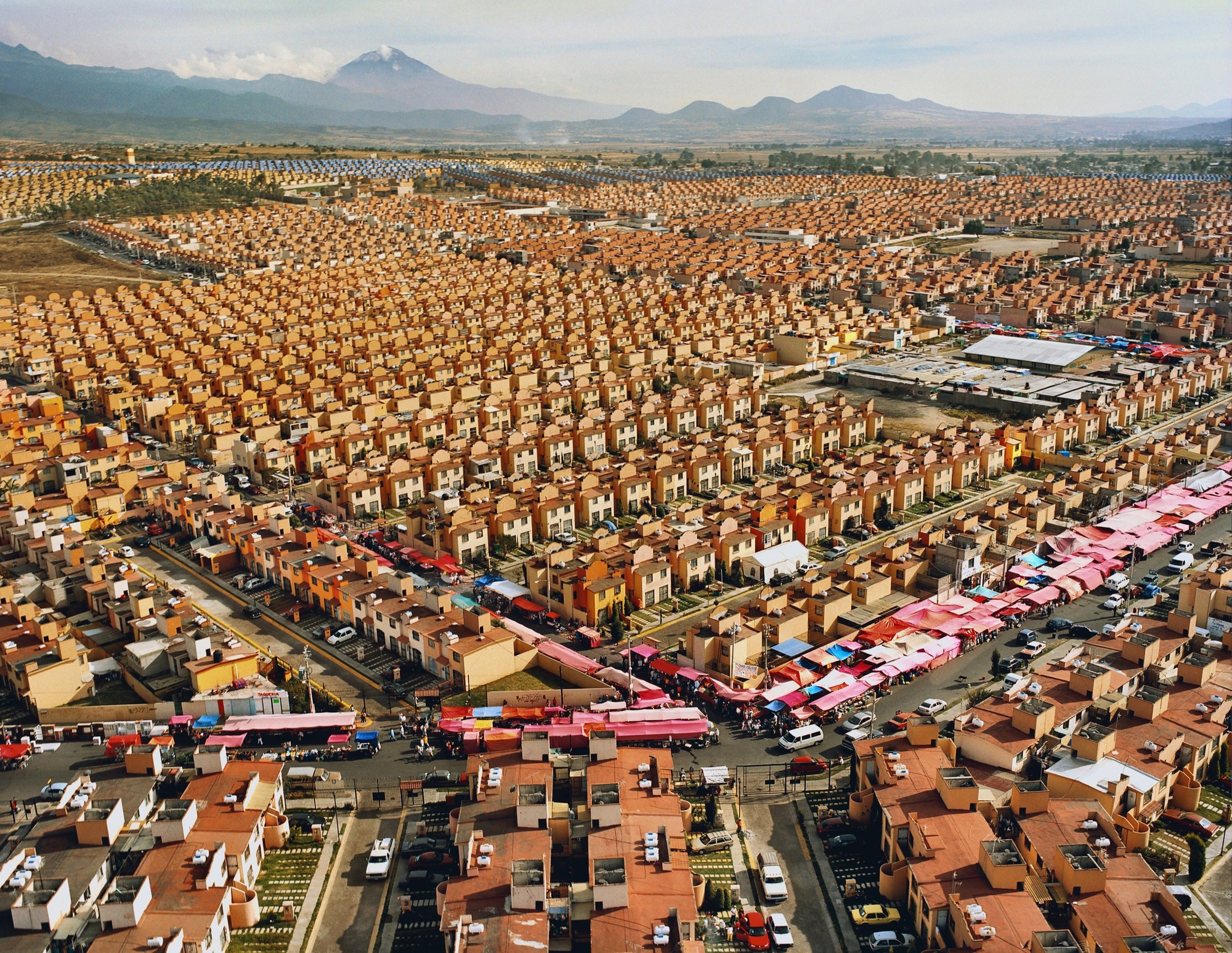 "Exhibition: Beyond the Supersquare, Livia Corona (b. Mexico, 1975; based in New York) / From the series: ""Two Million Homes for Mexico / 47,547 Homes for Mexico Ixtapaluca, 2007 / Archival Chromogenic Print / 30 x 40 inches / Courtesy of the artist and Galeria Agustina Ferreyra, San Juan, Puerto Rico"