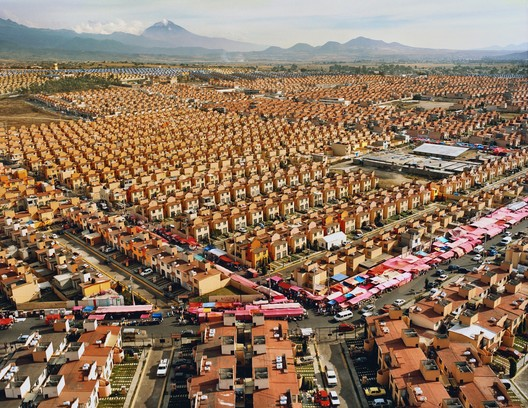 """Livia Corona (b. Mexico, 1975; based in New York) / From the series: """"Two Million Homes for Mexico / 47,547 Homes for Mexico Ixtapaluca, 2007 / Archival Chromogenic Print / 30 x 40 inches / Courtesy of the artist and Galeria Agustina Ferreyra, San Juan, Puerto Rico"""