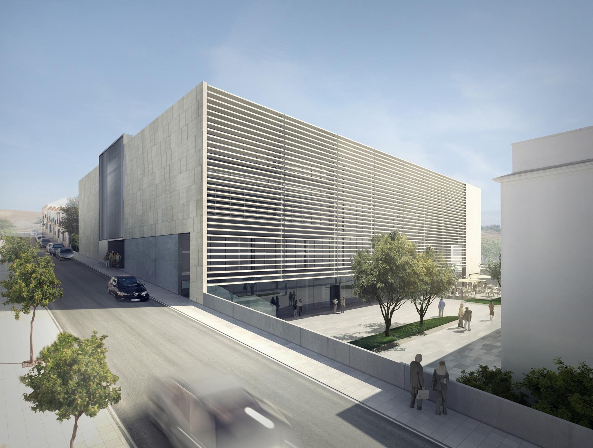 Primer Lugar Concurso para la ampliación de la Escuela Universitaria de Osuna / España