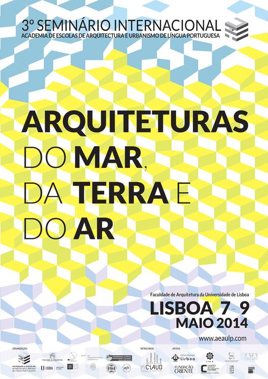 Arquiteturas do Mar, da Terra e do Ar - 3º Seminário Internacional de Arquitetura, Urbanismo e Design