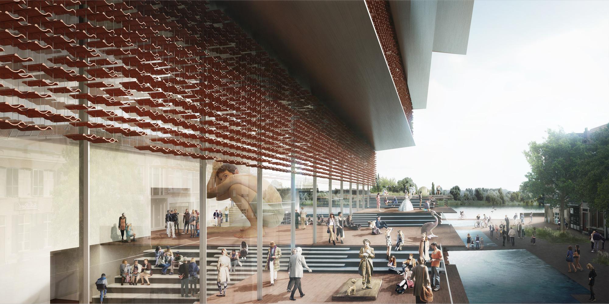 Kengo Kuma Presents Shortlisted Design For Arta Quot Civic