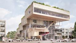 NL Architects Preseleccionados Para el Diseño del Centro Cultural ArtA en Arnhem