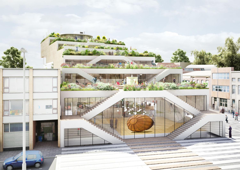Denmark Interior Design Gallery Of Nl Architects Shortlisted To Design Arta