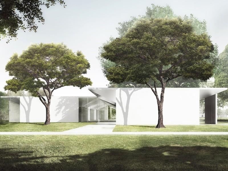 Details Emerge on Johnston Marklee's Design for the Menil Drawing Institute, © Johnston Marklee