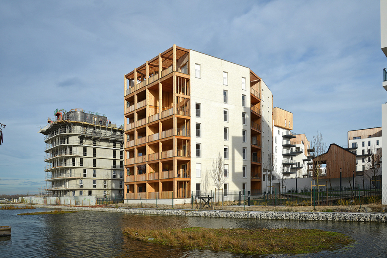 Ginko Eco-Quarter / La Nouvelle Agence, Courtesy of La Nouvelle Agence